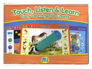 Touch, Listen & Learn Early Learning Literacy Pack
