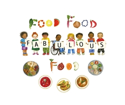 Food, Food, Fabulous Food - Bilingual Children's Book available in Arabic, Farsi, French, Italian, Polish, Spanish, Urdu, and many more languages. Inspiring story for diverse classrooms.