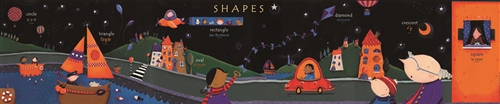 Shapes Poster-Multilingual Edition, Multicultural Poster