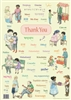 Thank You In Different Languages Poster - Multilingual and Multicultural Poster