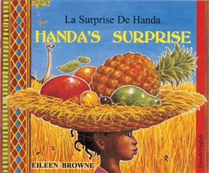 Handa's Surprise - Diverse children's book available in Arabic, French, Gujarati, Hindi, Portuguese, Tamil, Twi, Urdu, and many other languages.  Multicultural book for language learning in the classroom.