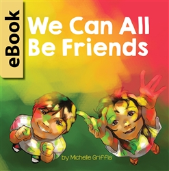 Diverse children's eBook We Can All Be Friends
