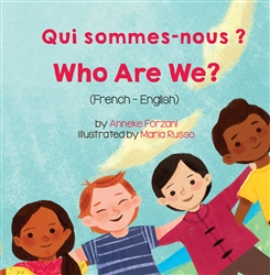 Who Are We? - Bilingual children's book about diversity available in many languages