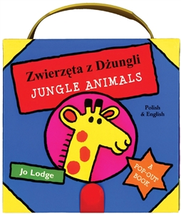 My Little Case of Jungle Animals - Bilingual book available in Hindi