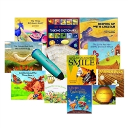 10 Book PENPal Enhanced Set - French/English
