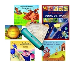Chinese-Simplified-English (Mandarin) Audio Books with Voice Recorder Pen: PENpal Starter Set