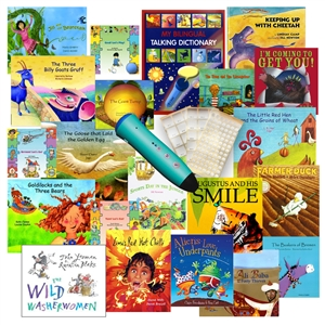 Spanish-English Audio Books with Voice Recorder Pen: PENpal Super Set