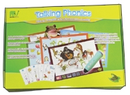 Talking Phonics Set with Audio Recorder Pen (PENpal) & Recordable Labels