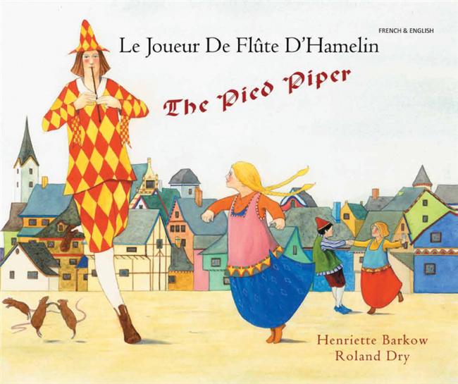 The Pied Piper - Bilingual Folktale in Spanish, Arabic, Bengali, Czech, French, Italian, Romanian, Urdu, and many other foreign languages. This classic story is great for diverse classrooms.