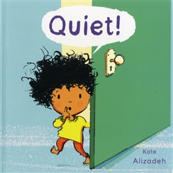 Quiet - a bilingual book about sounds around the house