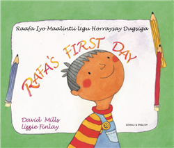 Rafa's First Day - Bilingual Book