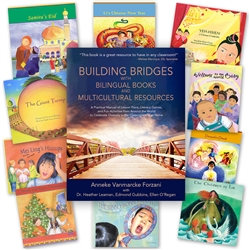 Celebrate Diversity Teacher's Guide - Set of 10 Spanish-English Multicultural Books, Lesson Plans, Diversity Activities