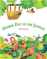 Sports Day in the Jungle - Bilingual Children's Book available in Arabic, Bulgarian, Czech, French, Hungarian, Nepali, Russian, Spanish, and many other languages. Inspiring story for diverse classrooms