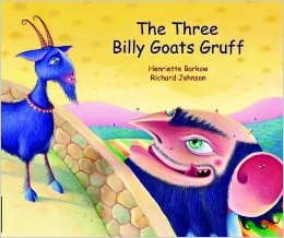 The Three Billy Goats Gruff - Bilingual Children's Book in Albanian, Bengali, French, German, Romanian, Spanish, and many more languages. Multicultural story for diverse classrooms