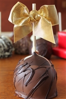 Triple Dunked Caramel-Chocolate Apple