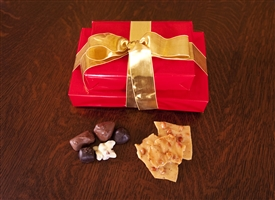 Deluxe Gift Pack: Grand Assortment and Old-Fashioned Peanut Brittle (Price includes shipping!)