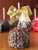 Almond Butter Crunch Caramel-Chocolate Apple