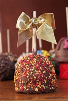Autumn Leaves Caramel-Chocolate Apple