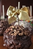 Cashew Covered Caramel-Chocolate Apple