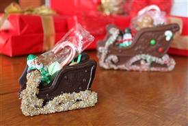 Filled Chocolate Sleigh