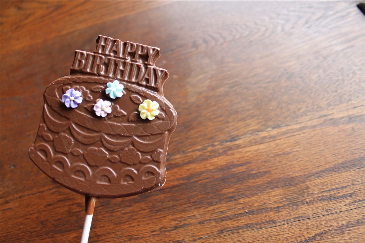 Happy Birthday Cake Pop