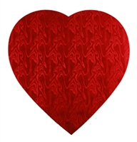 Small Red Foil Heart
