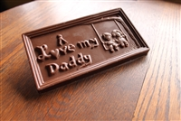 I Love Daddy Bar