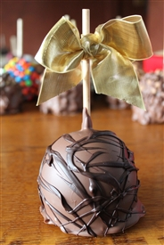 "Double Chocolate ""Jazzy"" Caramel-Chocolate Apple"