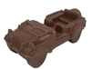 Solid Chocolate Jeep CJ