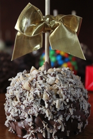 Macadamia Coconut Caramel-Chocolate Apple