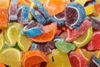Miniature Fruit Slice Candy