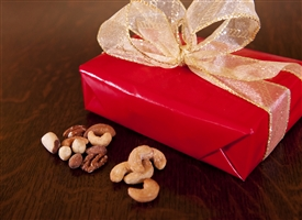 One Pound of Roasted Mixed Nuts OR Jumbo Cashews (Price includes shipping!)