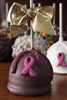 Breast Cancer Awareness Caramel-Chocolate Apple