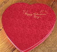 Extra Large Red Foil Heart