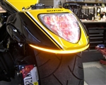 New Rage Cycles Suzuki M109 LED Turn Signal Fender Eliminator Kit