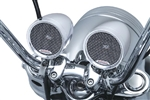 "Kuryakyn Road Thunder 3"" Handlebar Speaker and amplifier Kit"