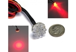 Mini Glow Spots Motorcycle LED Turn Signal or Brake light Clusters