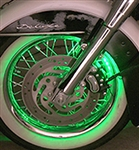 Motorcycle LED Accent Wheel Lights