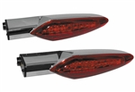 Victory Rear LED Turn Signals with Red Lens
