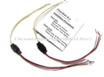 Switch Backz Turn signal wiring circuits for dual color LEDs