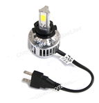 H7 Replacement Motorcycle LED Headlight Bulb for Sport Bikes, Cruisers, & Autos