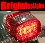 Bright Ass Square Back LED Taillight for Harley Davidson