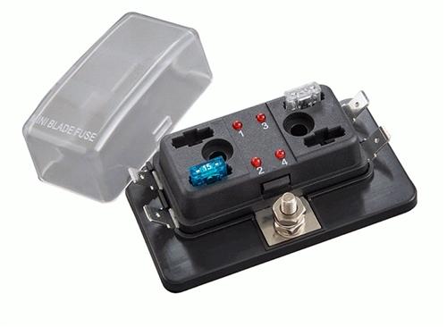 kawasaki vulcan 750 fuse box location 12 v dc with 4  6  or 10 position fuse block stations with led  fuse block