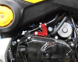 Honda Grom Billet Clutch Cable Holder Bracket