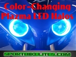 SUZUKI SV650  SV1000 03-08 COLOR CHANGING PLAZMA LED HALOS DUAL KIT