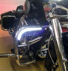 Yamaha YZF R3 Center Daytime Running Light LED Upgrade from