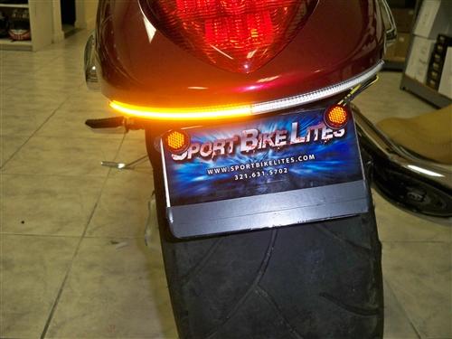 Sportbike lites suzuki m109 led turn signal fender eliminator kit larger photo email a friend aloadofball Images