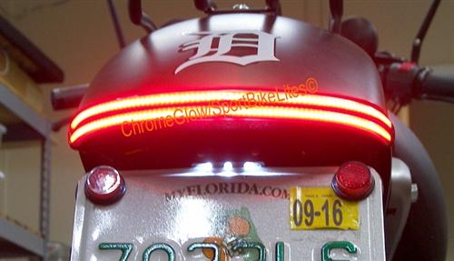 Honda VT750    Phantom    Spirit Double Stack LED Fender