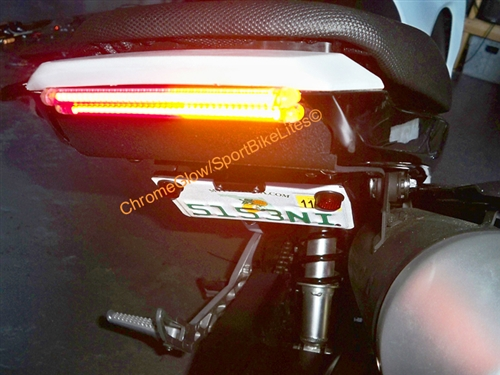 Fender eliminator undertail kit for 2014 2016 honda grom with larger photo email a friend aloadofball Images