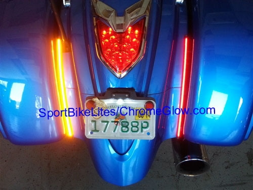 09 14 kawasaki vaquero led turn signal fender eliminator from larger photo email a friend aloadofball Images
